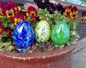 Easter Eggs, Set of Three...