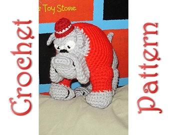 Bobby Bulldog A Crochet Pattern by Erin Scull