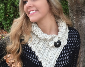 CROCHET PATTERN Neck Warmer/Cowl Instant Download PDF