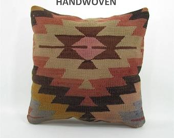 Outdoor gift kilim pillow vintage pillow throw pillow kilim pillow cover decorative rustic pillow home decor   mom 303 housewarming gift