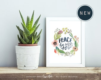 Peace be with you PRINT