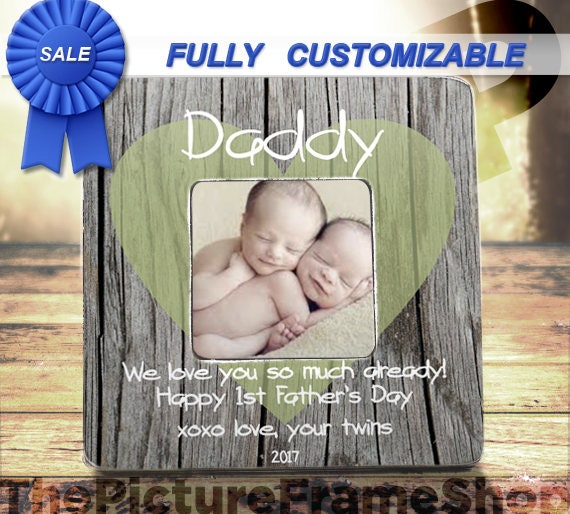 First Father\'s Day Dad Of Twins First Time Dad Daddy Of Twins Gift ...