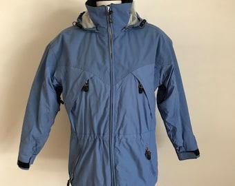Vintage Obermeyer, Womens, Blue, 1980's, Dynamic, Ski Jacket, Waterproof, Ski Gear, Coat