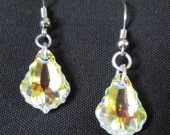 Swarovski Aurora Borealis Earrings