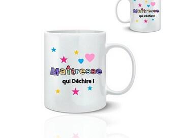 Teacher mug - mug 325 ml ceramic
