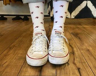 Spam Musubi Crew Socks