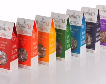 Positivitea Chakra Tea Gift Set, Herbalife, Herbal Tea