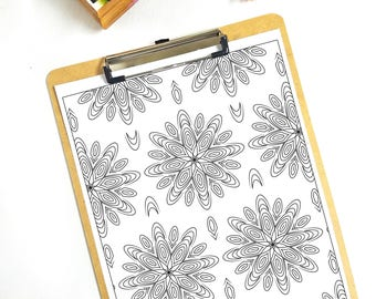 Coloring Page 2 Pattern
