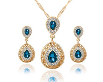 Monaco Necklace and Earring Set