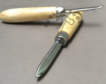 Straight and Curved Burnisher for Stone Setting Polishing Burnishing Jewelery Tool