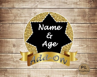 Add-On NAME & AGE
