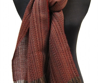 Alpaca & Lambswool Scarves, Luxurious, Soft and Silky A3 Scarves –  No Synthetics or Chemical Dyes