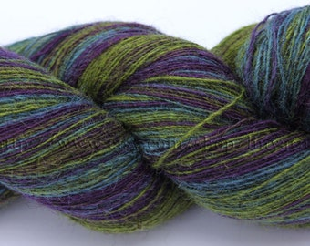 KAUNI Estonian Artistic Wool Yarn Lavender 8/1  Laceweight Art Wool Yarn for Knitting, Crochet