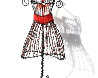 Mannequin seamstress wire iron - on order and customizable