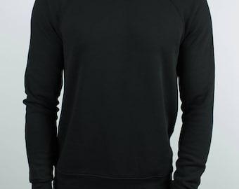 Black Raglan Sweater