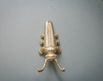 Vintage Brass Beetle Decor/Boot Pull