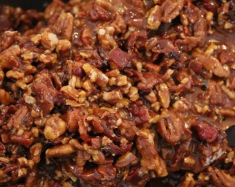 Foxy's Sweet Treats Famous BACON Brown Sugar Pecan Brittle - 1 lb - FRESH!
