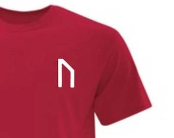 URUZ Rune Symbol - Mens T-Shirt