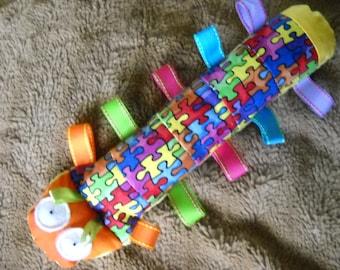 Autism awareness sensory caterpillar