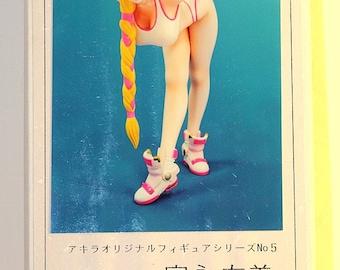 """Manga figurine resin 1/6 scale model """"Manga girl 03"""""""