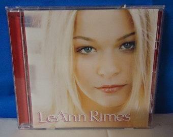"""042518 06 Used LeAnn Rimes """"LeAnn Rimes"""" CD Curb D2-77947"""