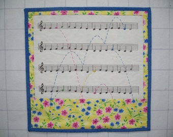 Ode to Joy Wall Quilt