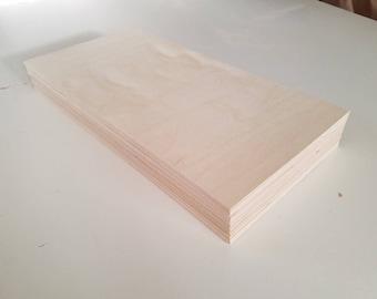 "1/8"" Birch 12x24 (12 Sheets) Baltic Birch Plywood 3mm"
