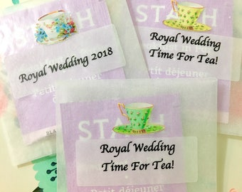 Royal Wedding Tea Party Favor, Afternoon Tea Party, Tea Gift, Alice In Wonderland, High Tea, Bridal Shower, Tea Party, Tea Cup, Tea Set, Tea
