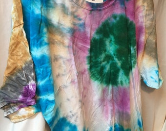 Tie Dyed T-Shirt Adult 2X  (A2x-3)