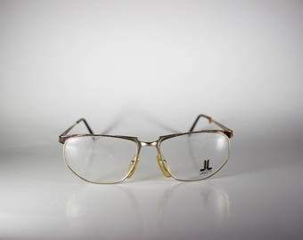 Lancetti 4022 Made in Italy CE Unisex 56-15-135 Vintage Frames Silver Metal NOS Deadstock - Free Shipping-LANF334J-2