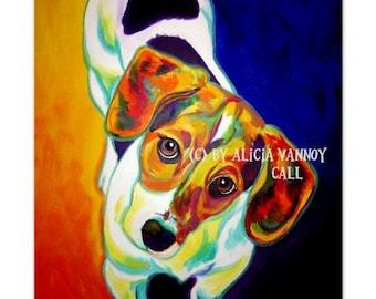 Beagle, Pet Portrait, DawgArt, Dog Art, Beagle Art, Art Prints, Colorful pet portrait, pet portrait artist, dog painting, Art