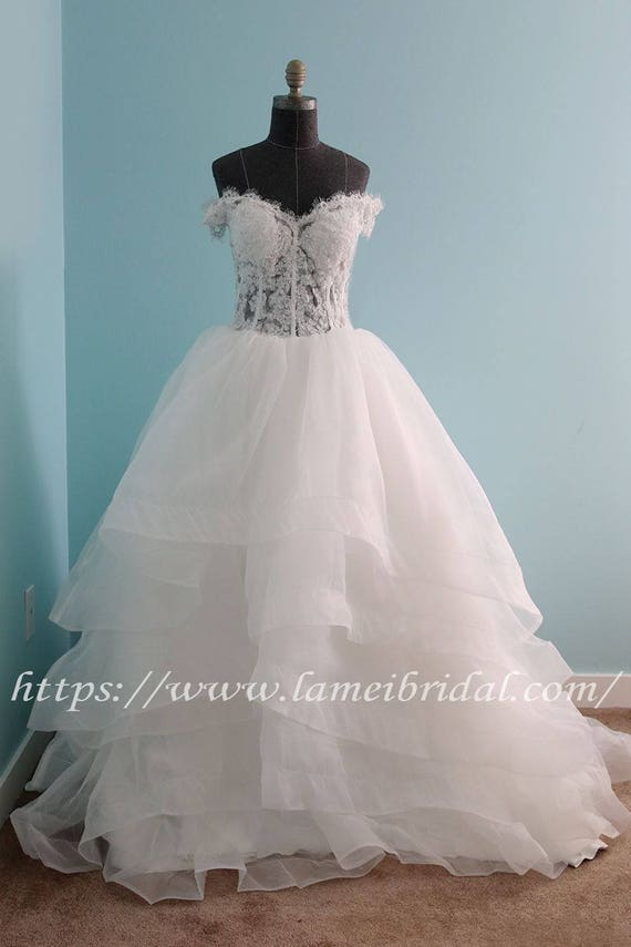 Custom made Victorian Inspired princess style Off Shoulder