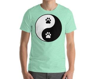 Yin Yang Dog Paws - Dog Parent T-Shirt