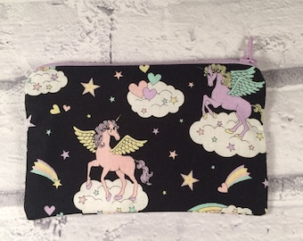 Unicorn coin purse/ pouch/ gift