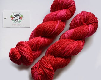 Take The Stage Hand Dyed Semi Solid Aran Yarn