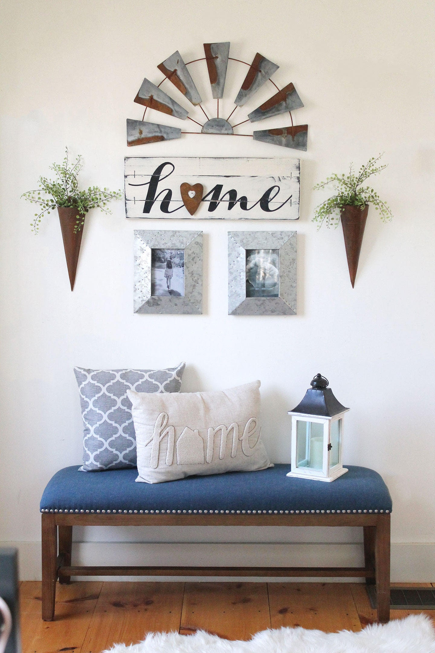 RUSTIC HOME SIGN Farmhouse gallery wall home gallery wall