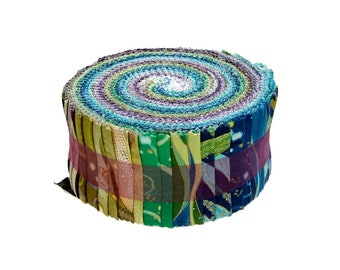 Dance of the Dragonfly Jelly Roll 40 2.5-inch Strips by Benartex Fast Shipping, JR539
