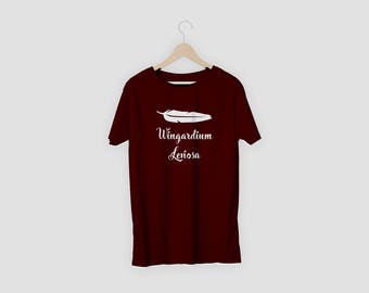 Harry Potter Wingardium Leviosa T-shirt Tee- Tops -Gifts for women - Gifts for men - S-2XL Hermione quote