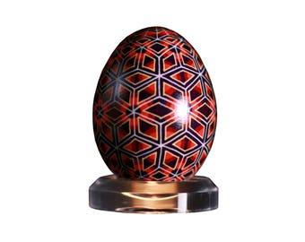 Pysanky Egg Pattern: The Wheeling Stars