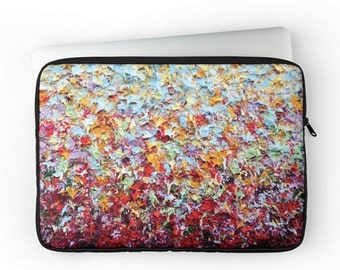 Padded Laptop Sleeve, Colorful Laptop Bag, Computer Case Up to 15 Inch, Laptop Case, Tablet Case, Computer Bag, Laptop Cover with Zipper