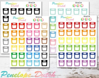 Weight Scale | Exercise Fitness Tracker Planner Stickers