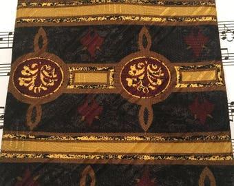 Vintage Nordstrom's Necktie, Robert Talbott Tie, Silk Tie