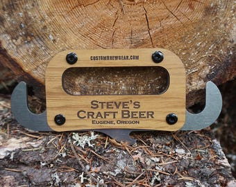 Growler Carrier-Personalized, Cool Groomsmen Gift, Beer Carrier