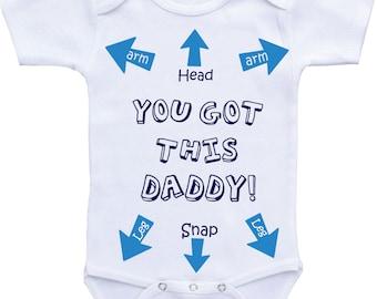 Funny baby clothes Funny baby boy onesie Funny baby onsies Funny baby shirts Funny Onesie Dad Funny baby gifts for boys funny baby onesies