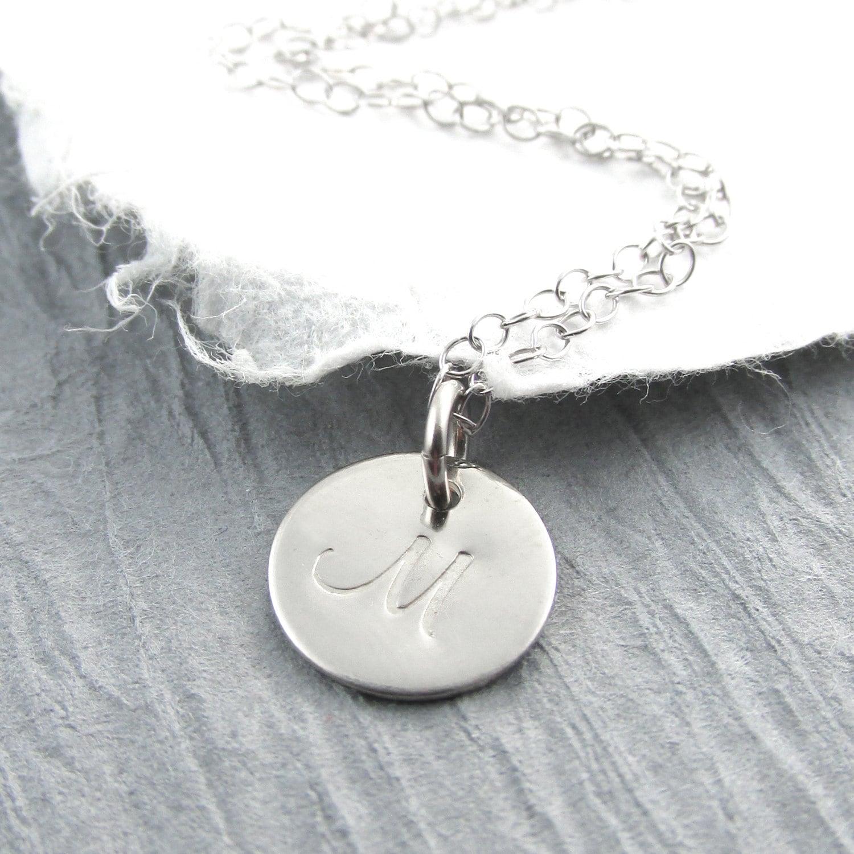 White gold letter necklace timiznceptzmusic white gold letter necklace aloadofball Gallery