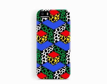 Geometric iPhone SE Case, iPhone 5S Case, iPhone Case, Geometric Phone Case, Pattern iPhone 5 Case, Patterned Phone Case, Tough iPhone Case