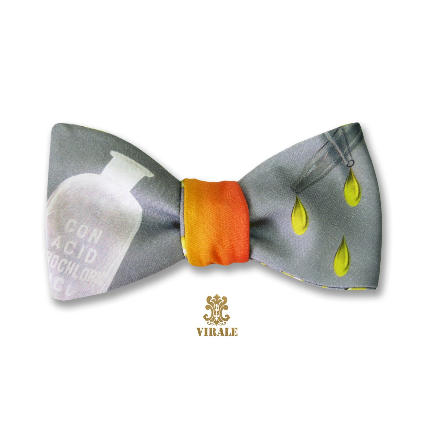 Virale By Dr B Staining Acids Bow Tie Inspired By Dorothy Parker