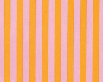 Tula Pink Fabric Tabby Road Tent Stripe Marmalade Skies, Choose your cut