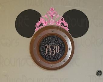 DCL Stateroom Door Ears - Princess Tiara