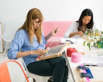 LA Beginner Weaving Class Sunday February 14th 9.30am - 12.30pm